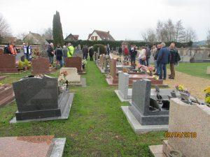 Végétalisation du cimetière, retour d'expérience (Roncherolles-sur-le-Vivier-9.04.18)