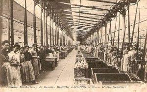 Filature Saint-Pierre à Déville-lès-Rouen au début du XXè siècle